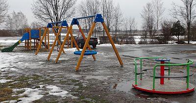 Remont placu zabaw przy ul. Hodowlanej