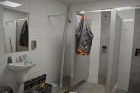 Remont pomieszczeń szatniowo-sanitarnych Hali Sportowej przy ulicy Szarych Szeregów