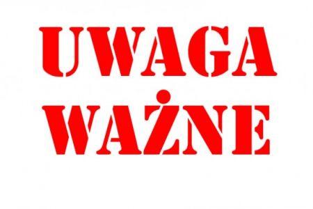 UWAGA! Skrócone lekcje w szkołach oraz zmiany w rozkładzie jazdy linii A i A-1