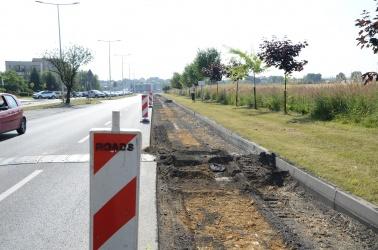 Ruszyła budowa drogi rowerowej wzdłuż ulicy Węglowej