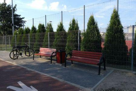 Rozbudowa infrastruktury wzdłuż ścieżki pieszo-rowerowej na Plantach Karola