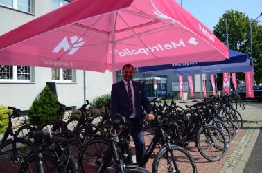 Prezentacja metropolitalnych rowerów elektrycznych