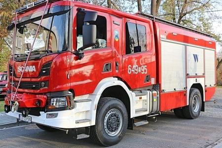 OSP Bieruń Nowy ma nowy pojazd ratowniczo-gaśniczy