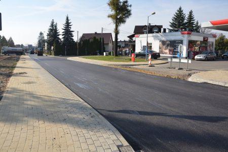 Asfaltowanie ulicy Marcina