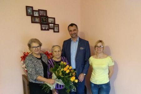 90. urodziny Wiktorii Ryszki