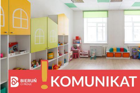 Oświadczenie Burmistrza Miasta Bierunia w sprawie otwarcia przedszkoli w Bieruniu