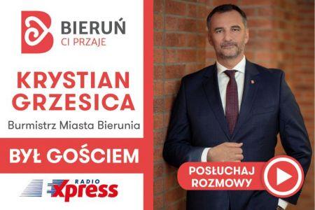 Burmistrz Krystian Grzesica był Gościem RadioExpress.fm - posłuchajcie rozmowy