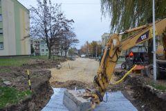 Wznowiono roboty budowlane na Węglowej