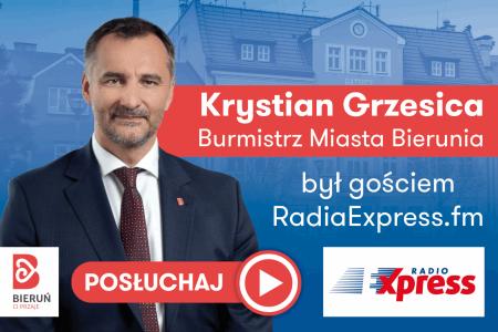O Budżecie Obywatelskim i muralu na Granitowej - rozmowa z burmistrzem Bierunia w Radiu Express