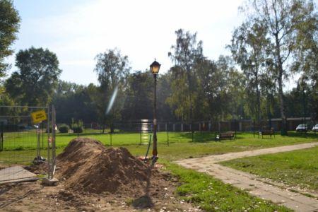 instalacja lamp