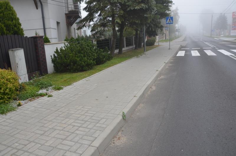 wymiana nawierzchni chodnika