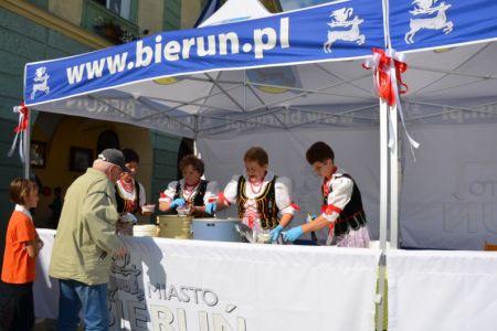 Bieruński akcent na czeskim jarmarku