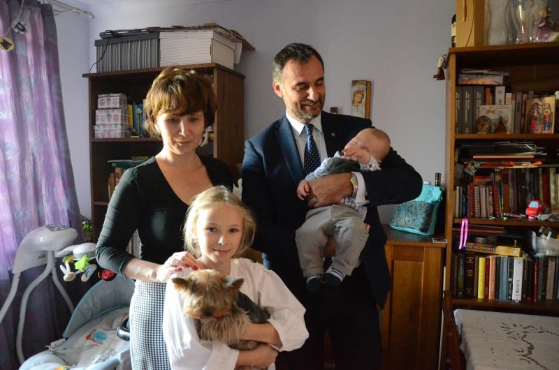 Odwiedziny u noworodków
