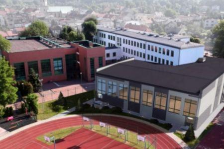 wizualizacja nowej sali gimnastycznej