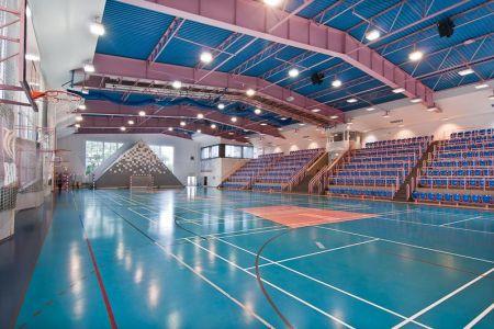 Hala Sportowa wewnątrz